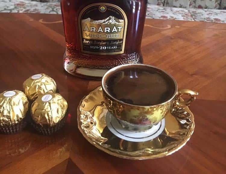 Топ 7 рецептов кофе с коньяком