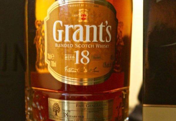Виски grant's (грантс): история создания и виды напитка, как правильно выбрать и пить