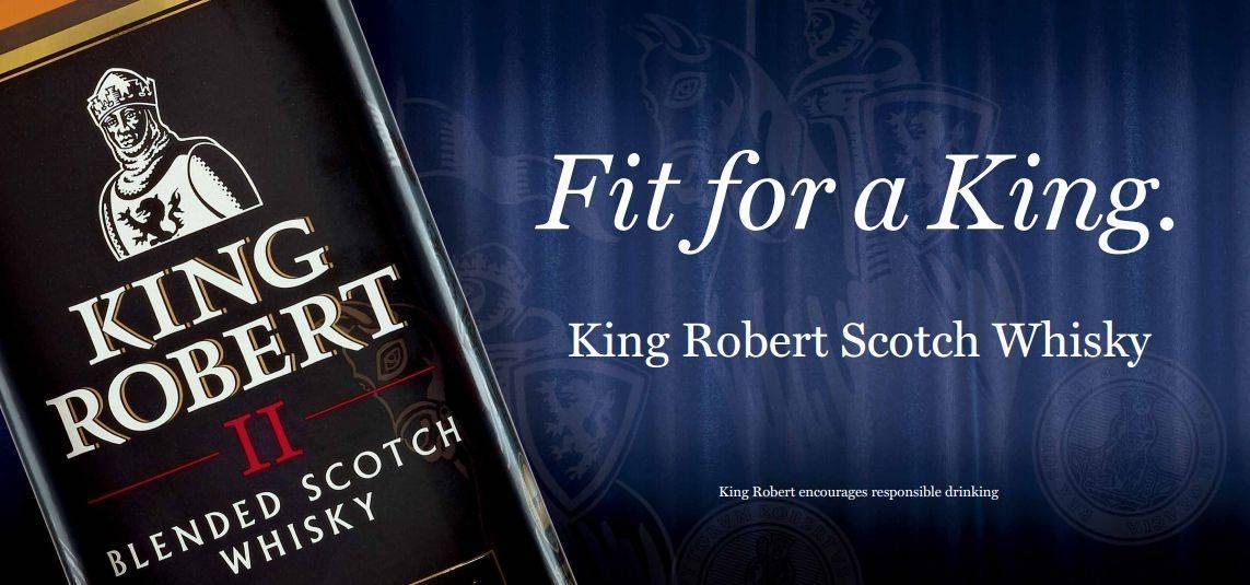 Шотландский виски king robert 2: обзор