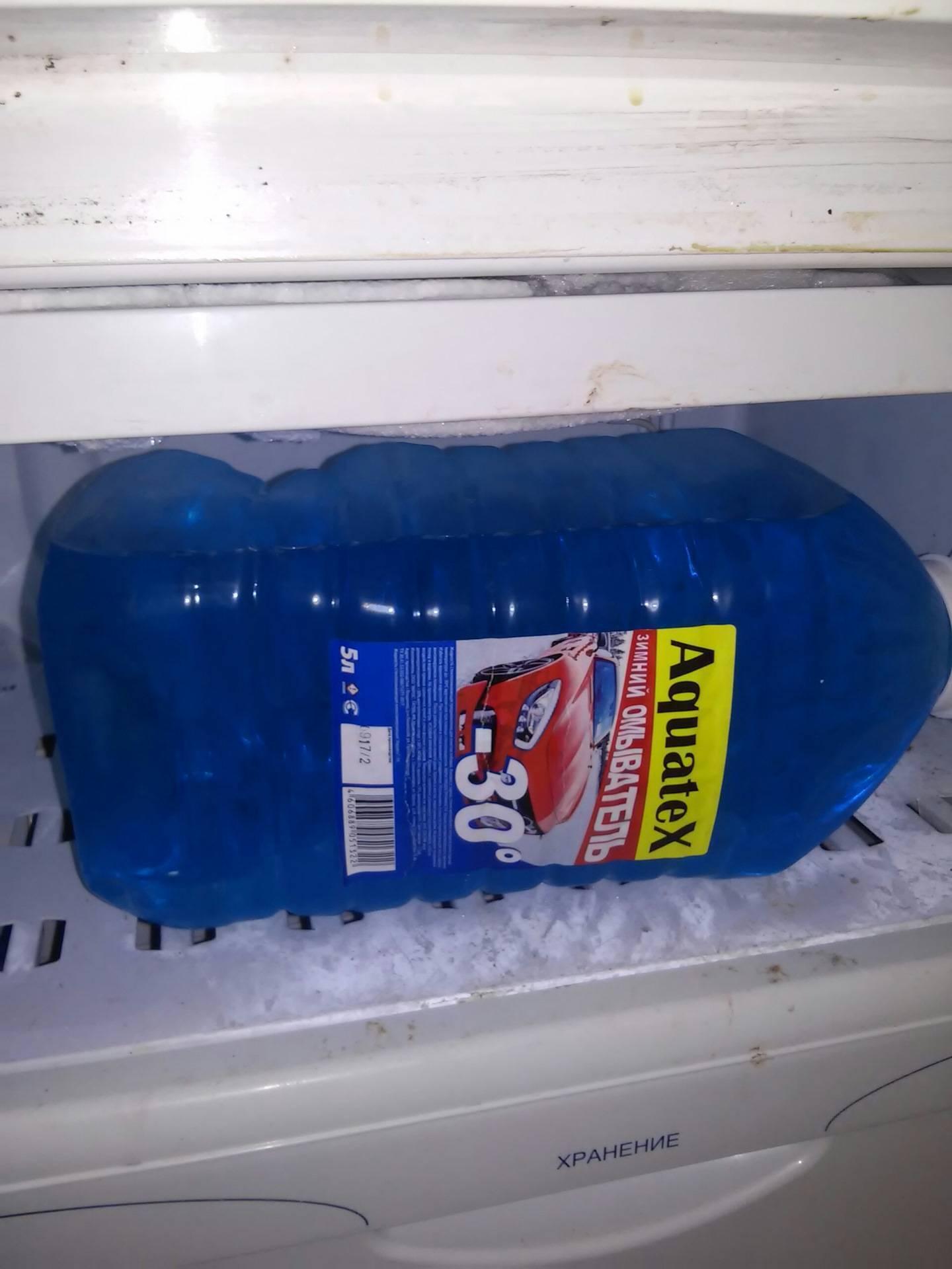 Можно ли хранить водку в морозилке? при какой температуре замерзает напиток