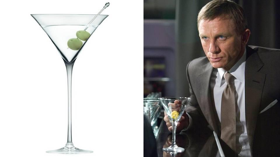 10 коктейлей джеймса бонда: что пил «главный» британский шпион