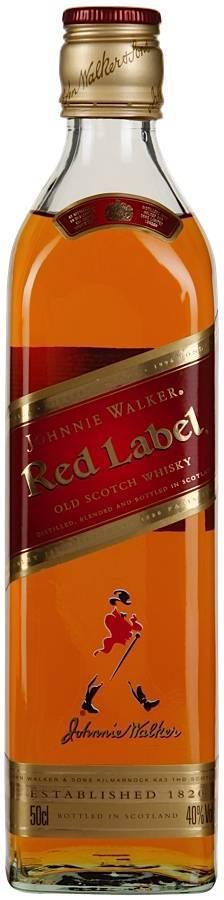 Виски red label
