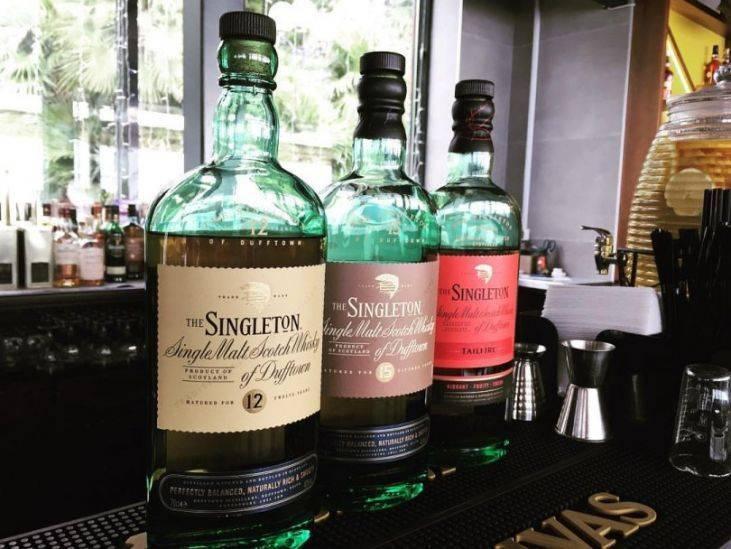 Виски singleton (синглтон даффтаун)