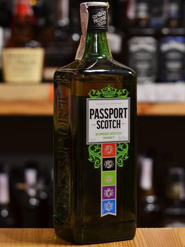 Виски passport scotch (паспорт скотч): описание, отзывы и цена