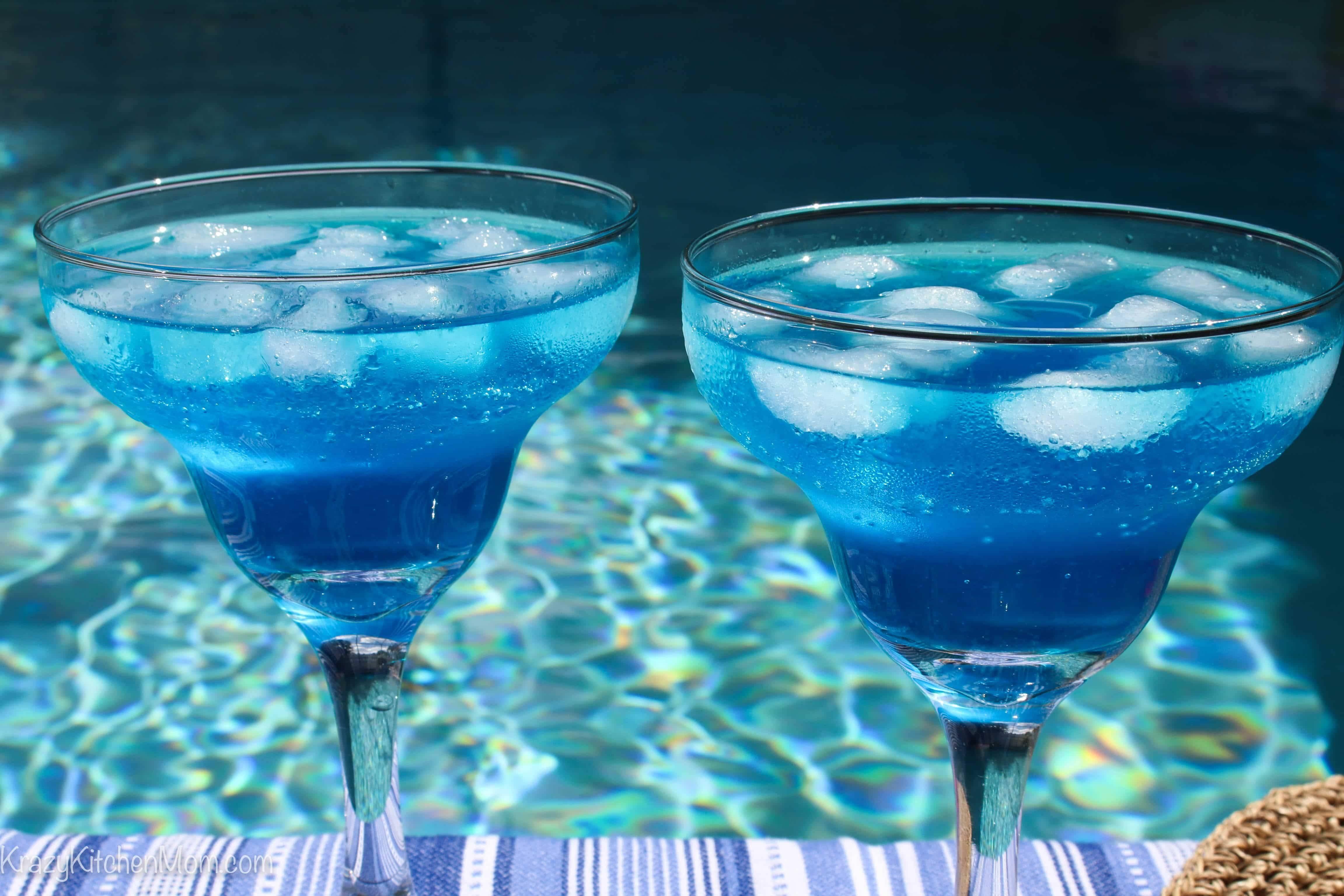 Безалкогольный коктейль с блю кюрасао - вкусные рецепты от receptpizza.ru