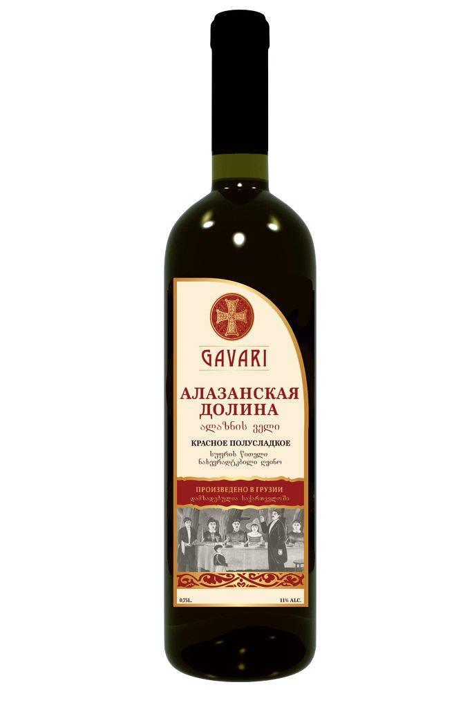 Алазанская долина: вино белое полусладкое