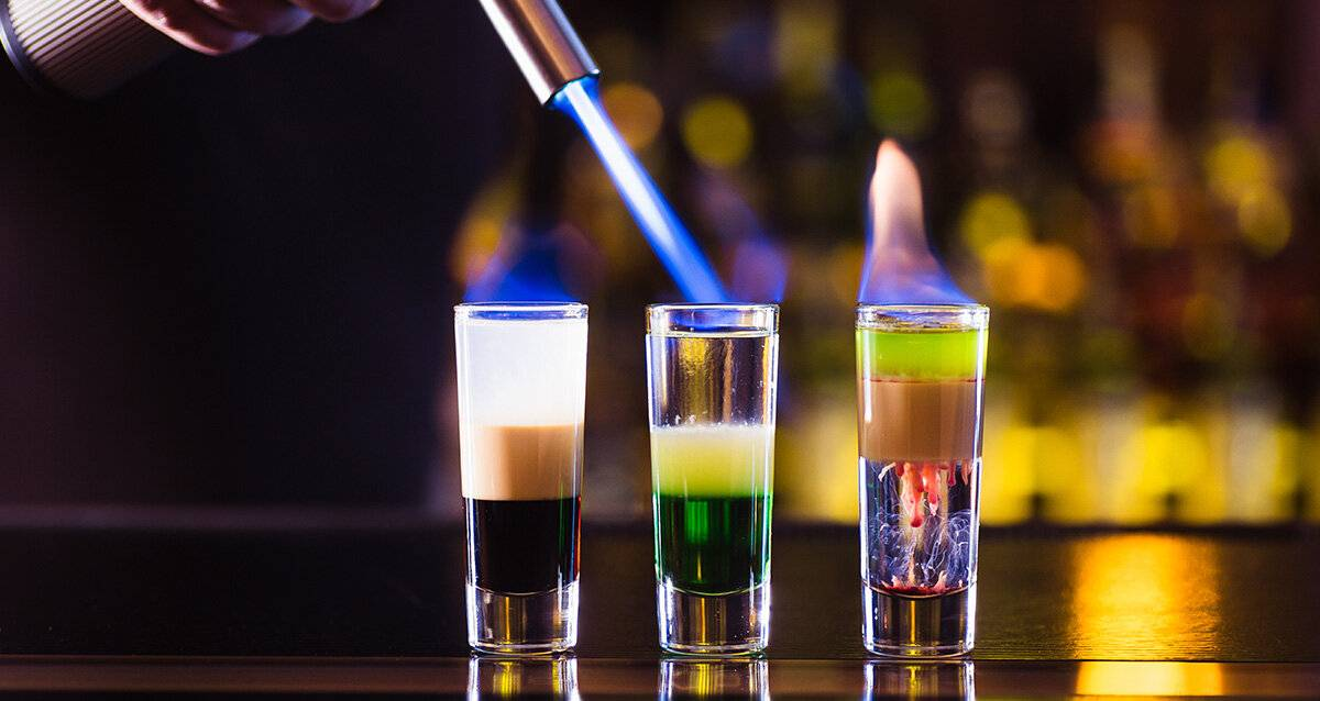 Как пьют абсент дома