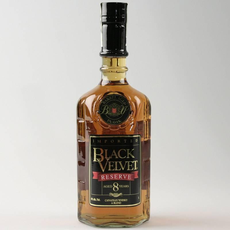 Black velvet: особенности виски блэк вельвет, как отличить от подделки, описание чешского пива вельвет