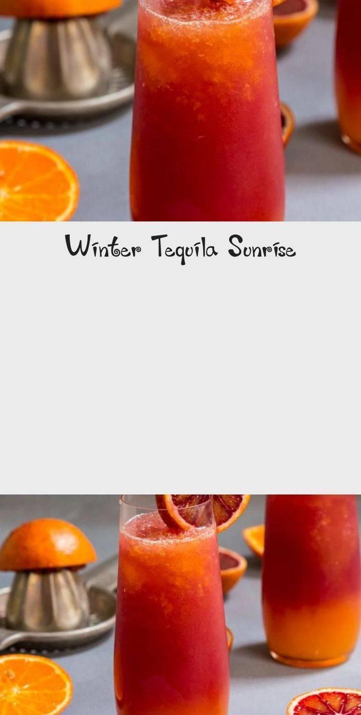 Коктейль текила санрайз — рецепт с фото: как приготовить классический tequila sunrise в домашних условиях