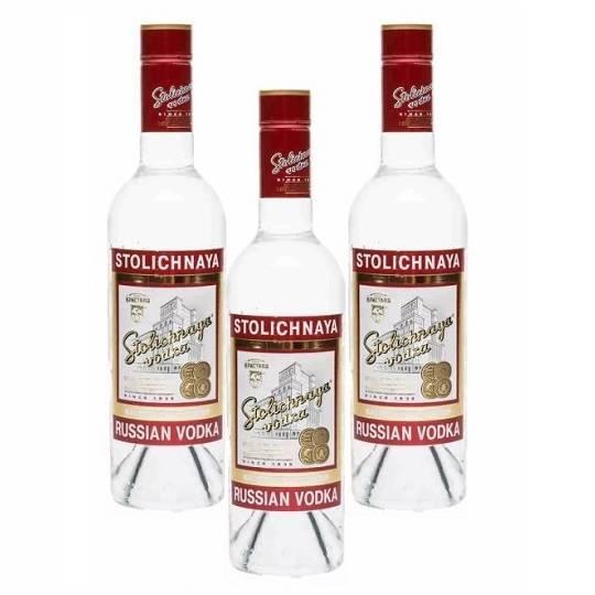 Водка «столичная» (stolichnaya): описание напитка и его история