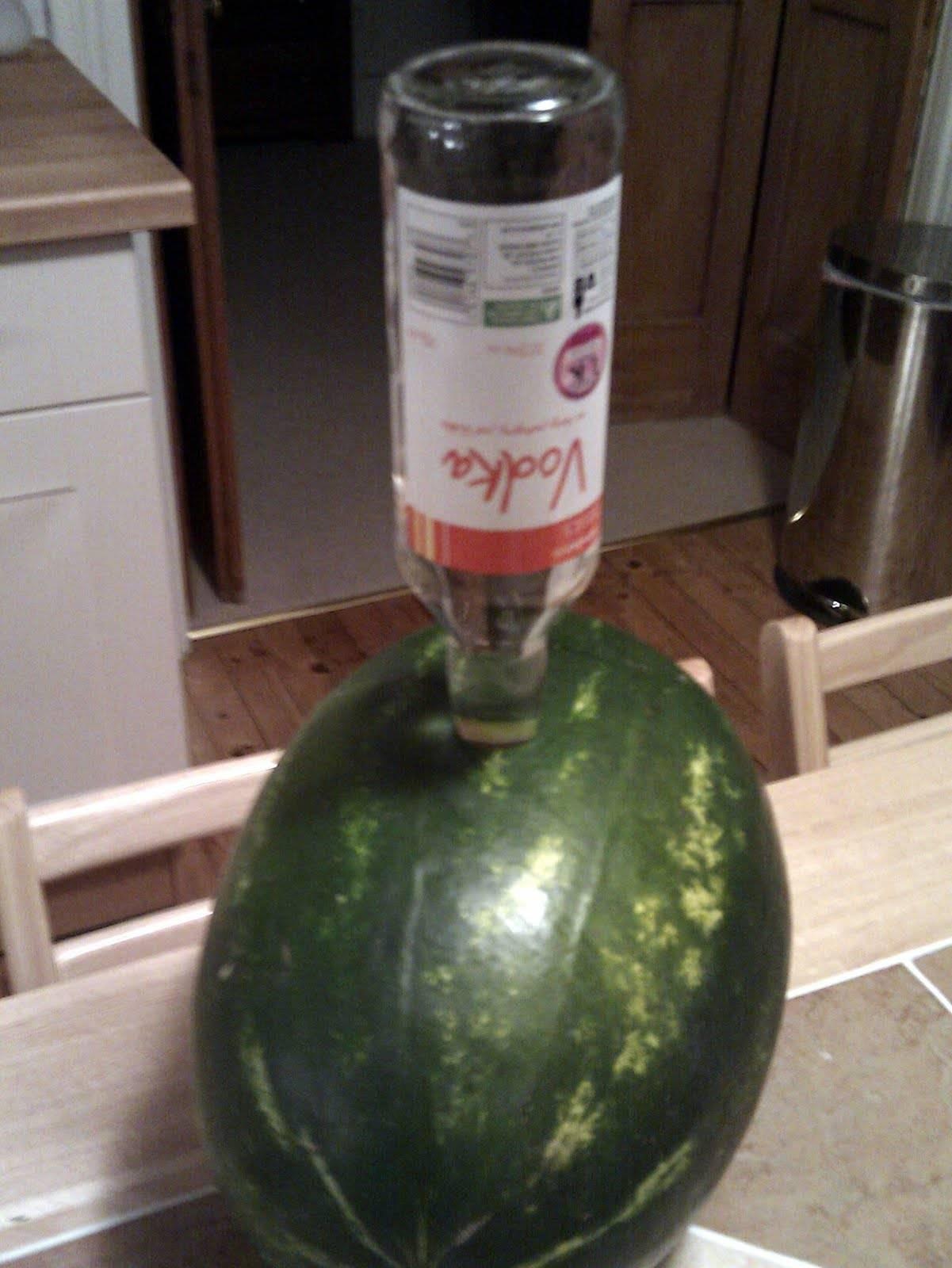 Как накачать арбуз водкой, спиртом, текилой и джином