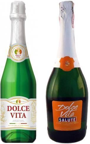 Обзор шампанского дольче вита
