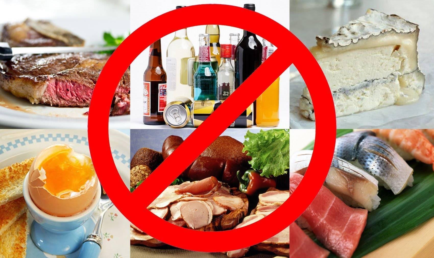 7 продуктов, несовместимых с алкоголем :: инфониак