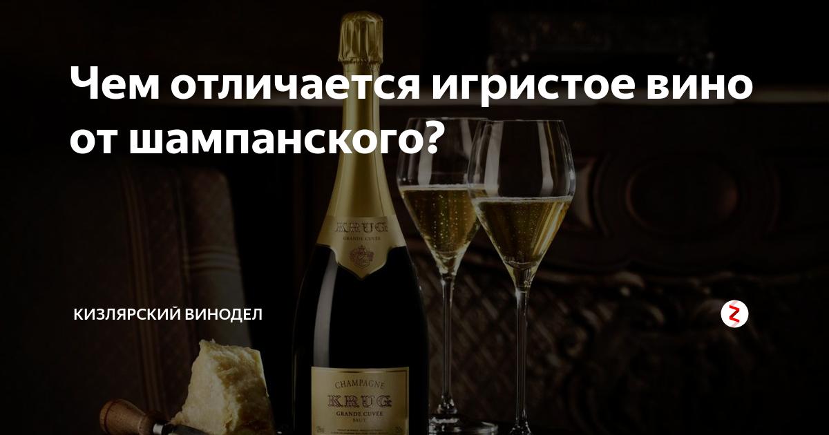 Разница между шампанским и винным напитком. чем шампанское отличается от игристых вин? испания – качество в бокале