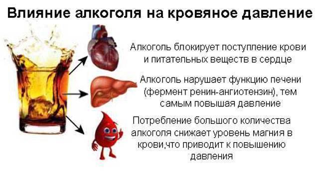 Влияние вина на артериальное давление