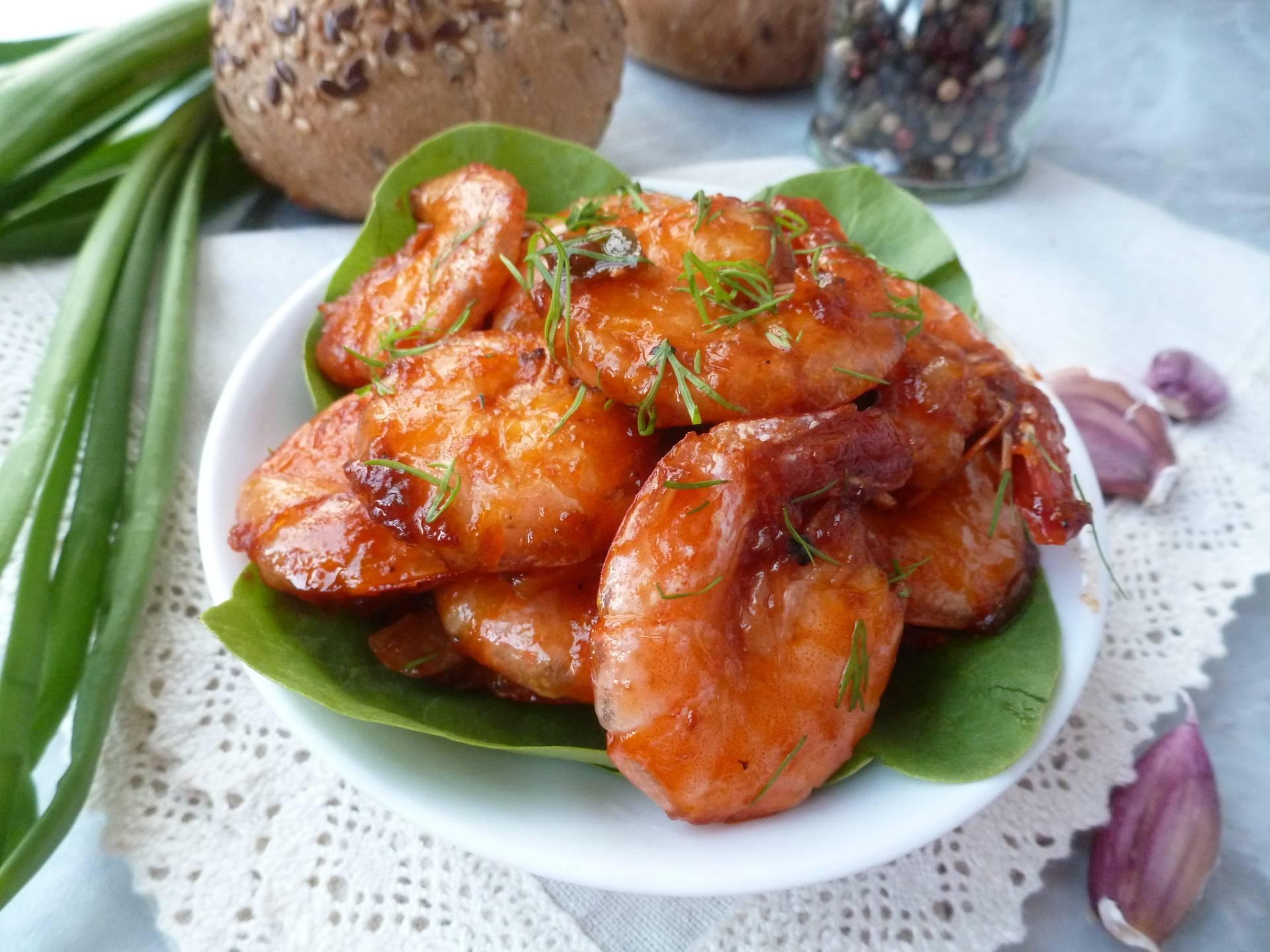 Жареные креветки - лучшие пошаговые рецепты к пиву