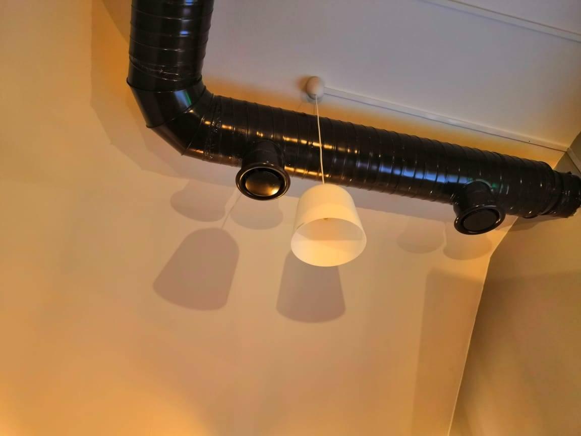 Эффективная вентиляция курительной комнаты и кальянной - вентисам