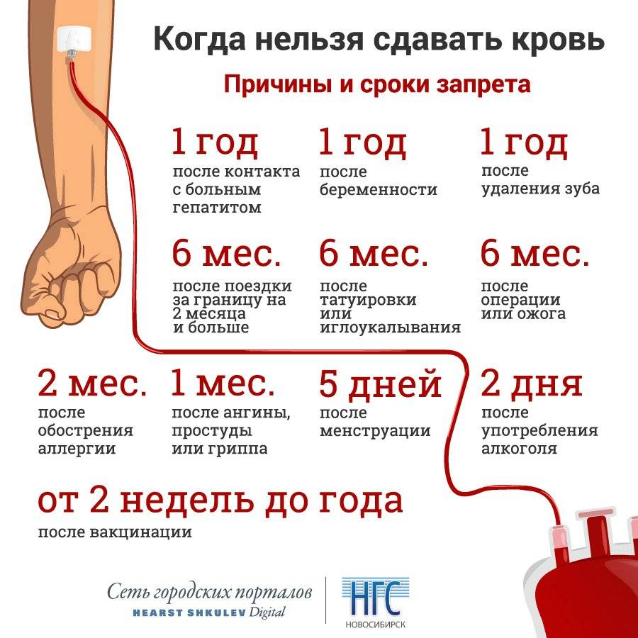 Рекомендации до и после донации - служба крови
