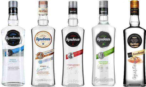 Водка «бульбаш» - отличный белорусский алкоголь