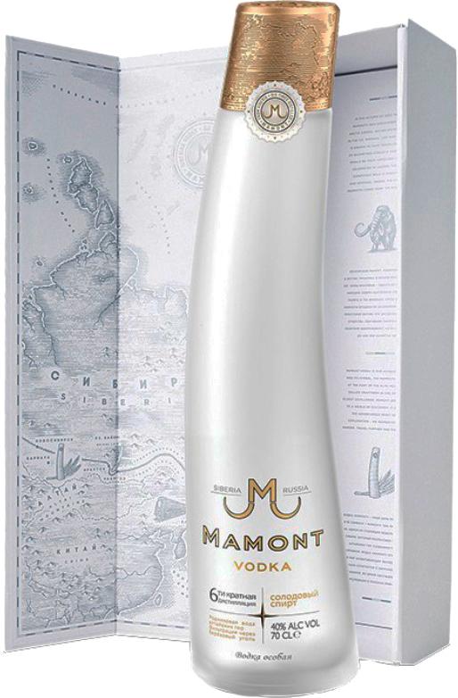 Водка мамонт: производитель и последние отзывы