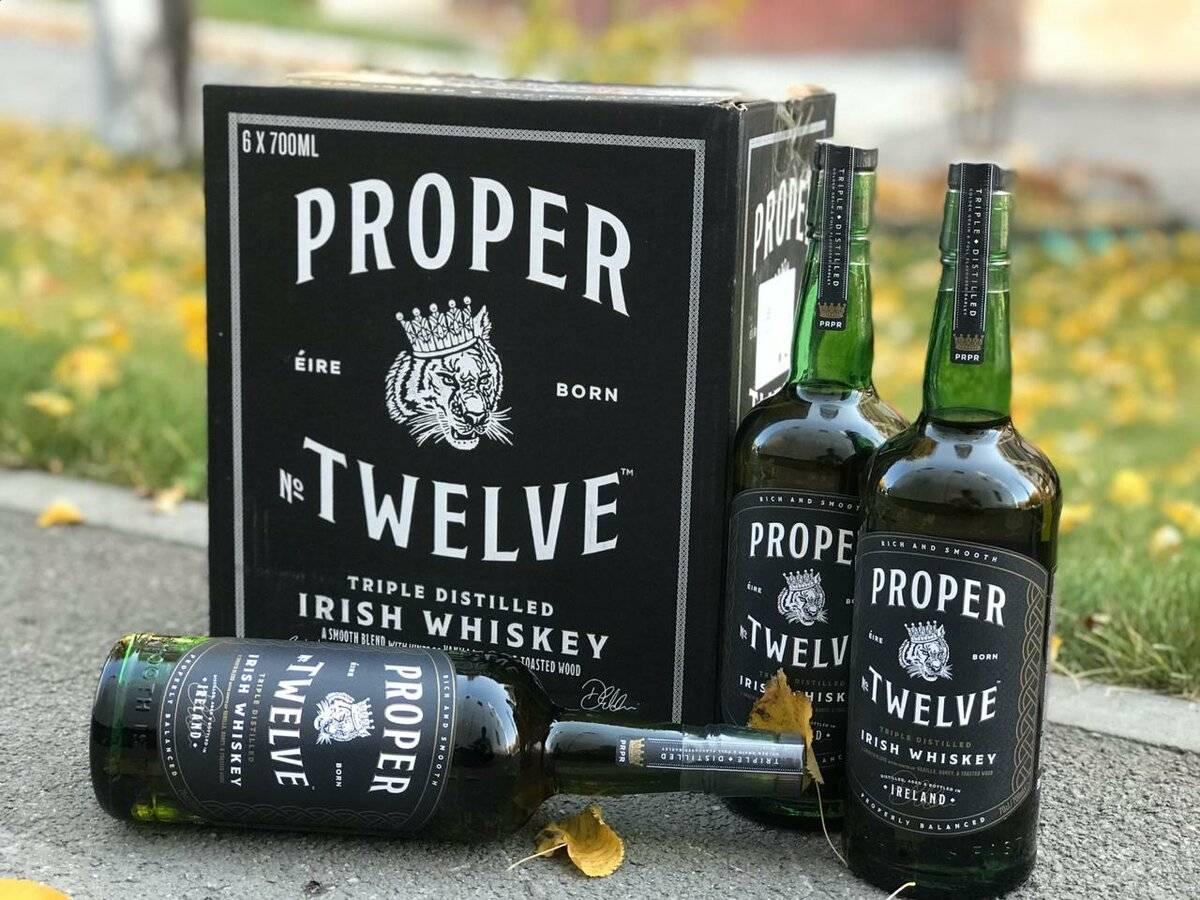 Виски макгрегора продается уже почти год. как дела у proper №12?