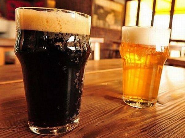 Какое пиво полезнее тёмное или светлое