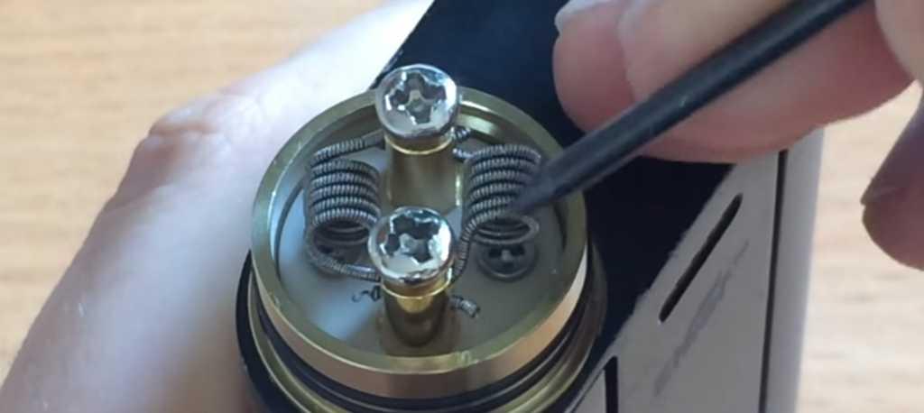 Намотка спирали для электронных сигарет
