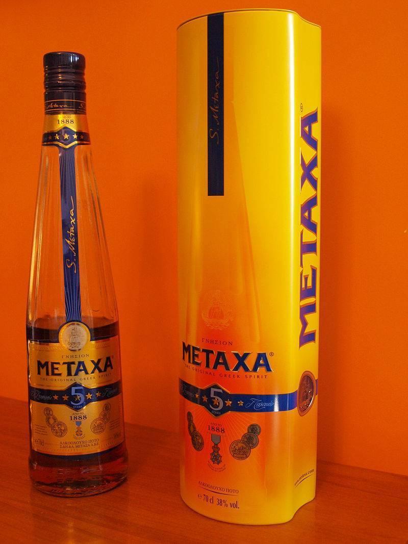 Что такое коньяк метакса состав и крепость элитного напитка?