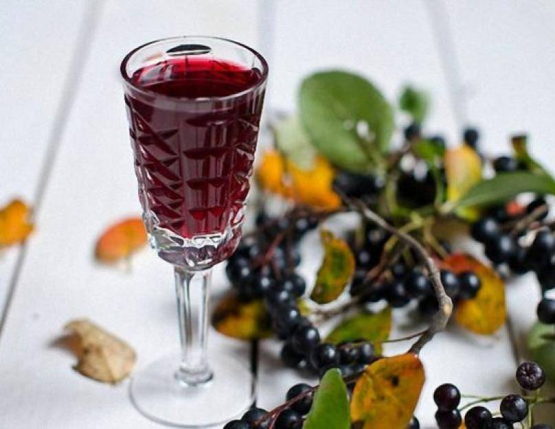 Рецепты домашнего ликера из черноплодной и красной рябины