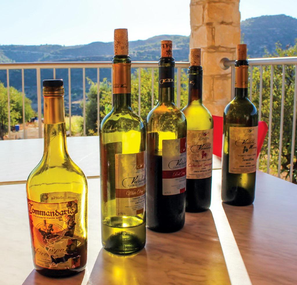 Обзор марок и видов вин кипра