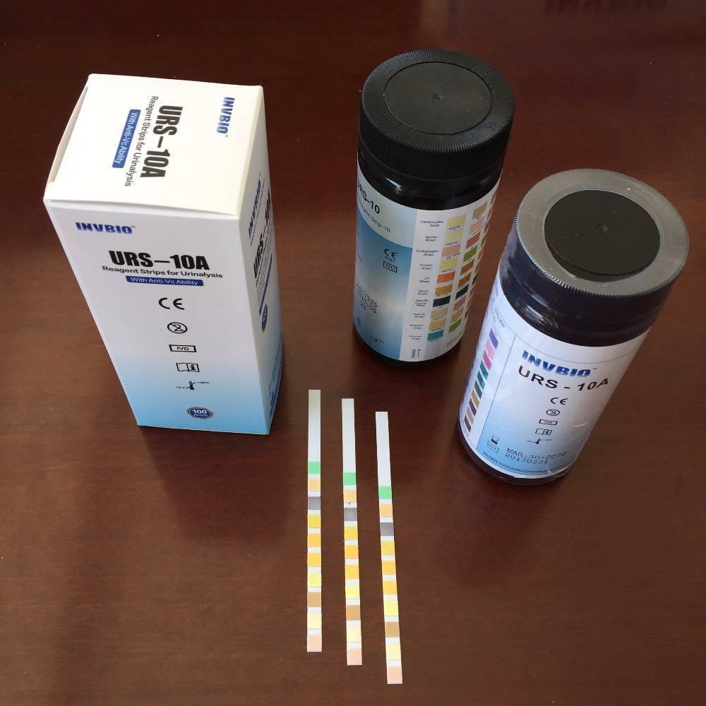 Тест полоски для определения белка в моче: как использовать