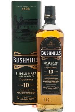 Виски «бушмилс ориджинал» (bushmills original): описание, отзывы, производитель