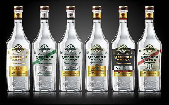 Водка зеленая марка: производитель, состав, особенности производства, разновидности, их стоимость, особенности упаковки и дизайна