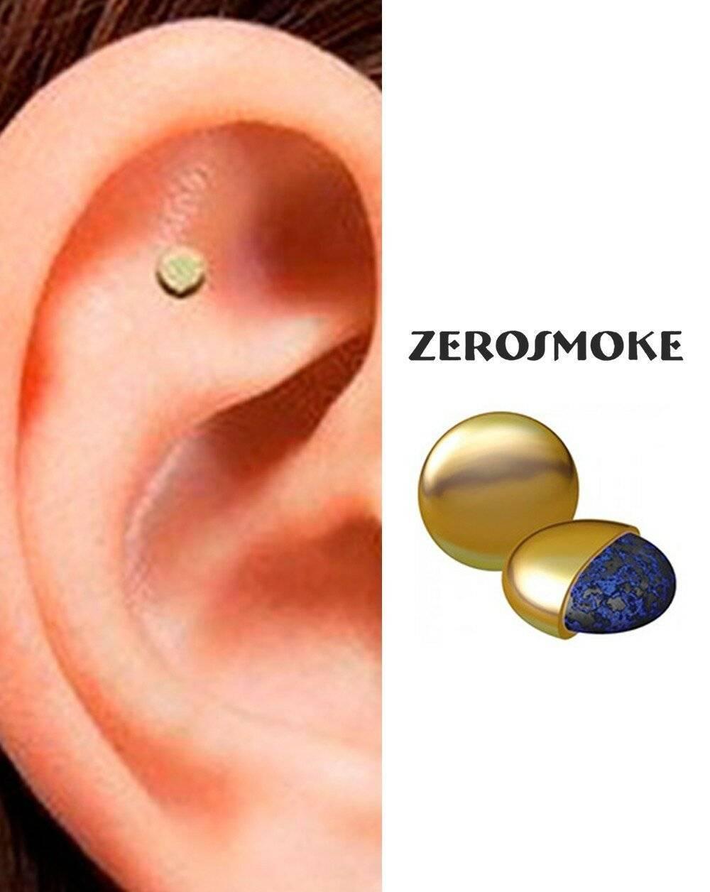 Магниты от курения на ухо zerosmoke — реальный способ бросить курить?