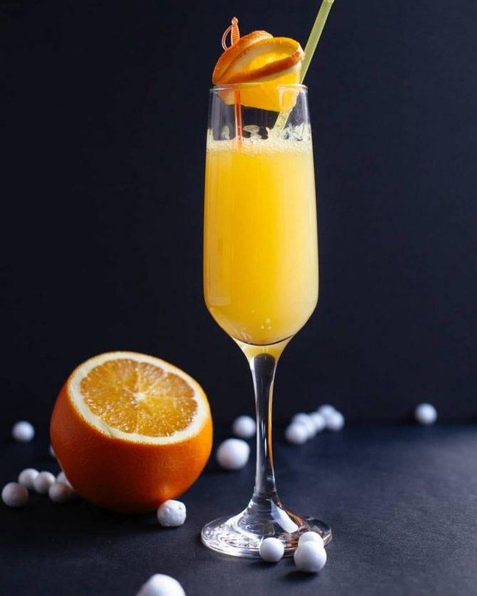 Как приготовить коктейль мимоза по пошаговому рецепту с фото