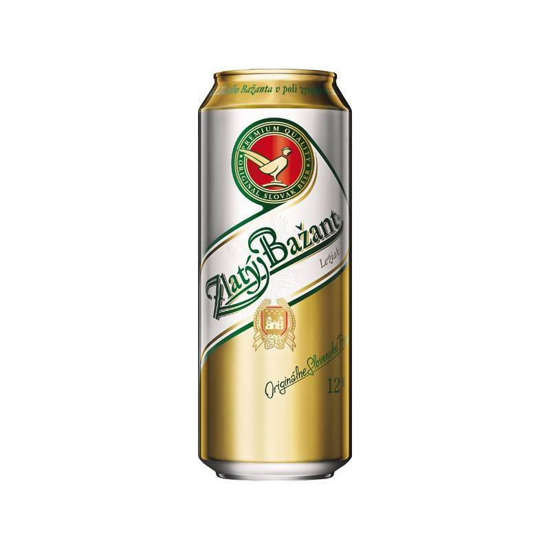 Пиво златый базант (zlaty bazant) — обзор популярного напитка