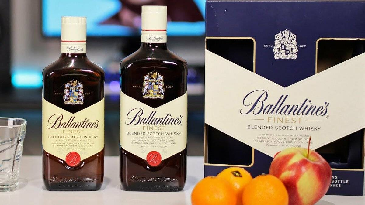 Ballantine's whiskey (балантайс виски)