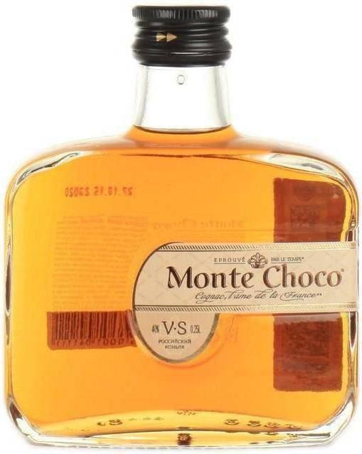 """Коньяк """"монте чоко"""": отзывы потребителей и рекомендации к употреблению"""