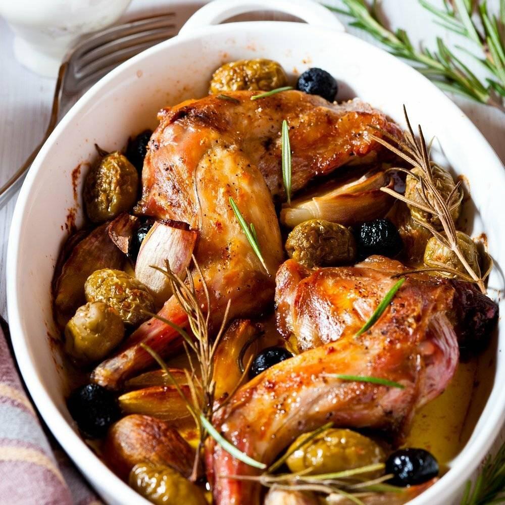 Кролик с розмарином – кулинарный рецепт