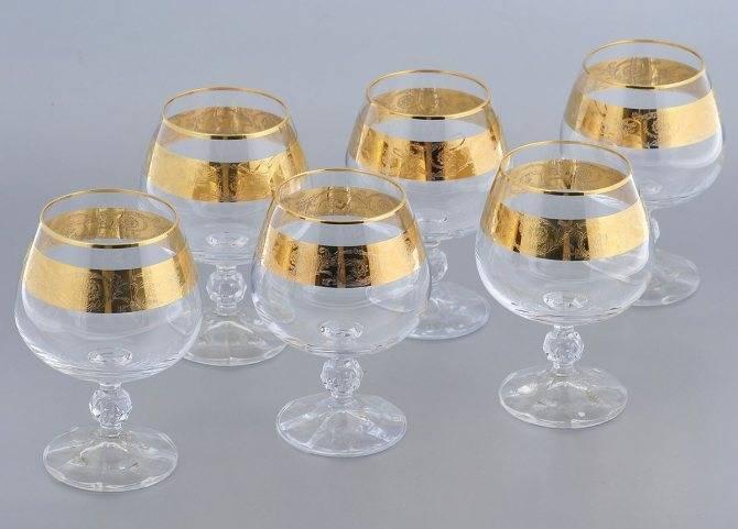 Коньячная посуда: какие бывают бокалы для коньяка