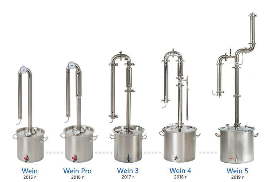 Обзор самогонного аппарата wein 4 pro (вейн 4 про): цены, характеристики, комплектация