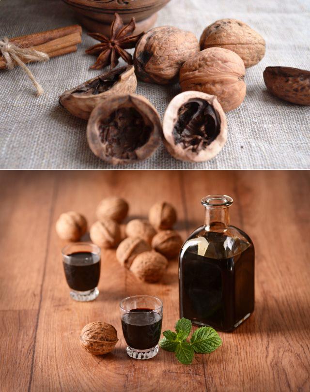 Полезная настойка грецкого ореха на водке