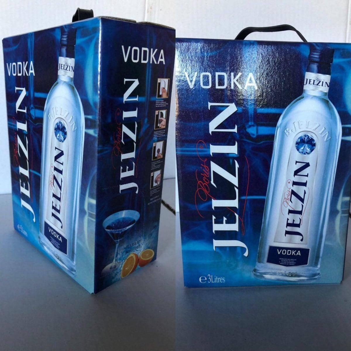 """Водка """"ельцин"""" - французское качество, доступное каждому"""