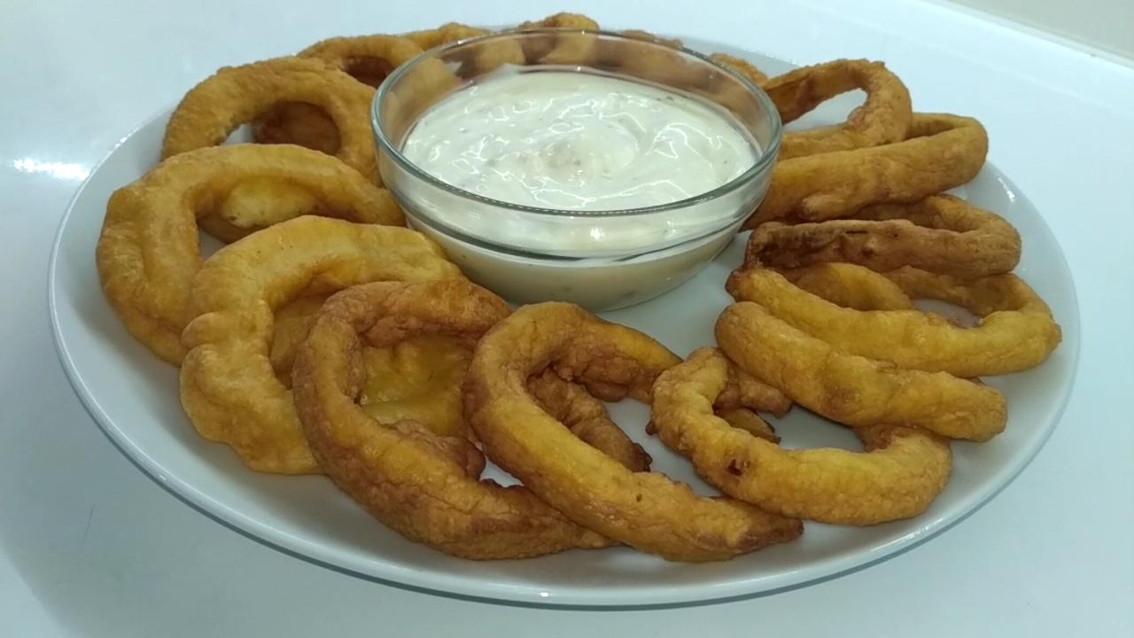 Луковые кольца в кляре - 5 обалденных рецептов