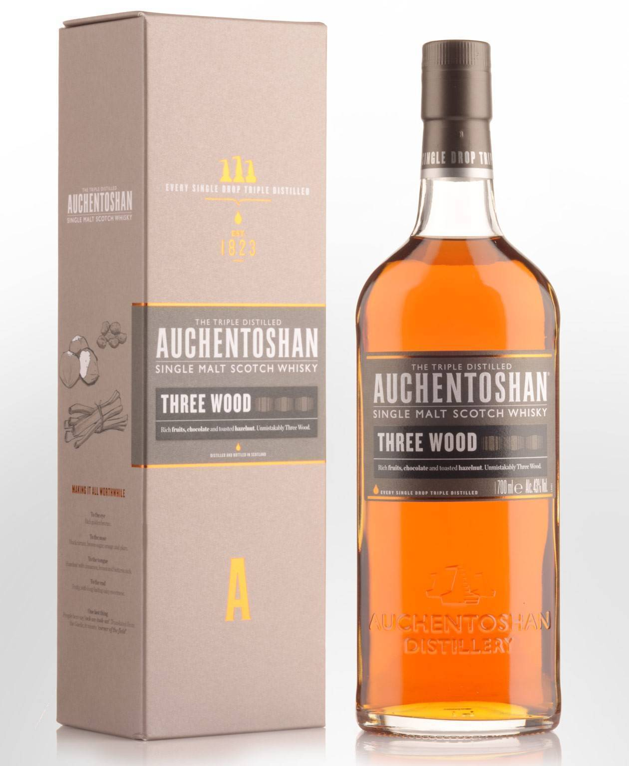 Обзор линейки шотландского виски Auchentoshan. История бренда, особенность производства и стоимость