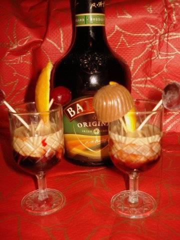 Коктейль с ликером бейлиз и с водкой