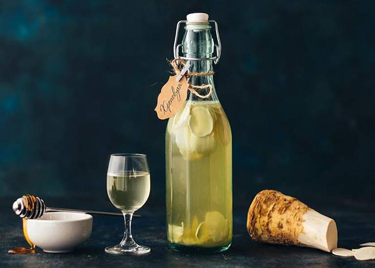 Простые рецепты хреновухи из водки в домашних условиях