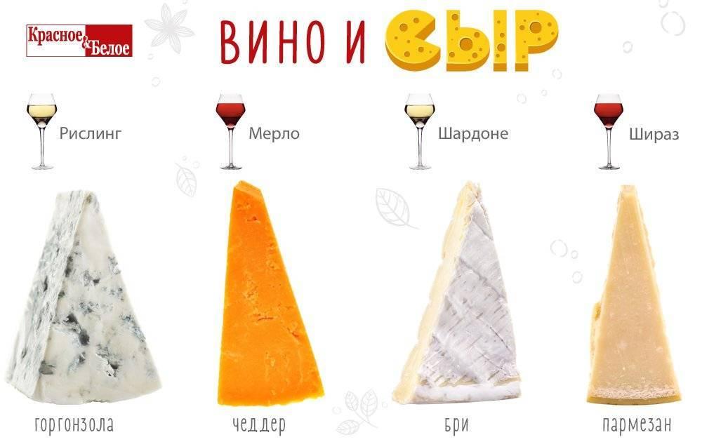 Как сочетаются вино и сыр