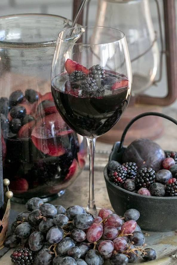 Ежевичное вино - da4nikpro