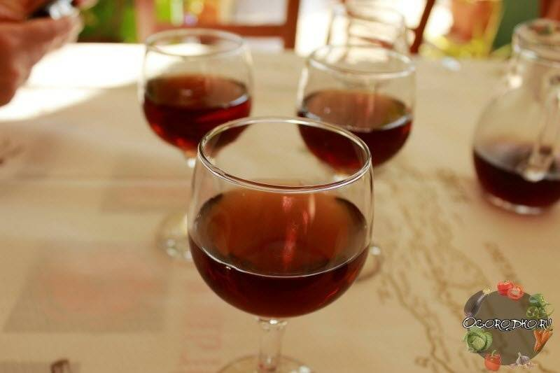 Свежее вино из прошлогоднего варенья